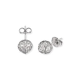 Engelsrufer Classic earrings for women 925-silver measures 10 -4 mm (0 -41')