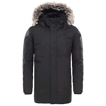The North Face Black Girls Arctic Swirl Down Jacket