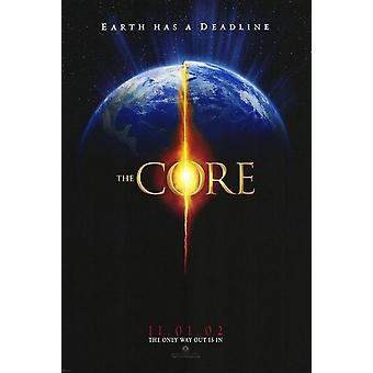 The Core (Double Sided Advance) Original Cinema Poster