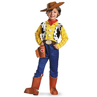 Woody Deluxe Disney Pixar Toy Story bog uge Fancy kjole op drenge kostume