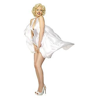 Naisten Marilyn Monroe Classic naamiaispuku puku
