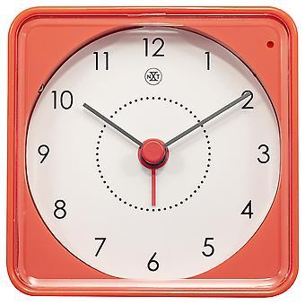 nXt - Alarm clock - 7.3 x 7.3 x 3.3 cm - Orange - 'Nathan'