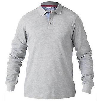 King size Rickie met lange mouwen Polo shirt