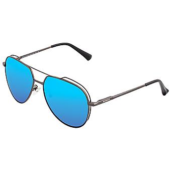 Nest van Lyra gepolariseerde zonnebrillen-zwart/blauw