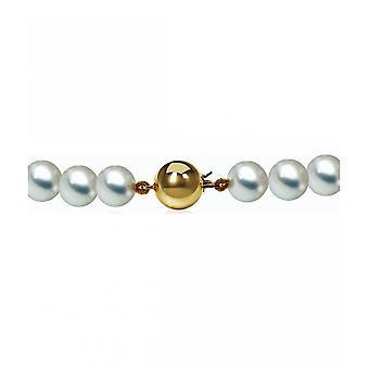 Luna-Pearls Pearl kaula koru AkoyaBeads 7,5-8 mm 585 keltainen kulta 2035947