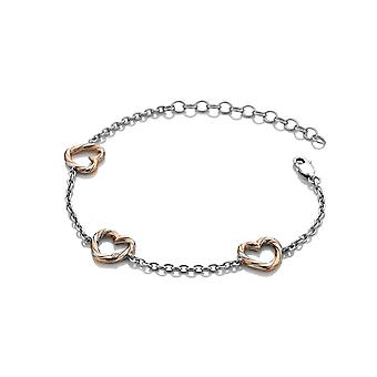 Hot Diamonds Breeze Heart Bracelet DL571