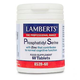 Lamberts Phosphatidyl serine 100mg tabletten 60 (8539-60)