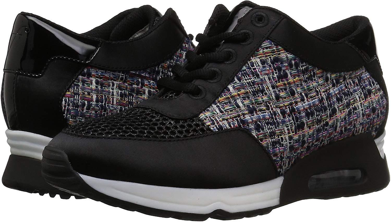 Brand - The Fix Women's Lexi Color/Material-Block Jogger Sneaker G2nIO