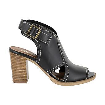 Bella Vita Womens Vivitaly Leather Peep Toe Ankle Wrap Clogs