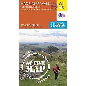 Hadrianus mur-haltwhistle & Hexham av Ordnance Survey-9780319469