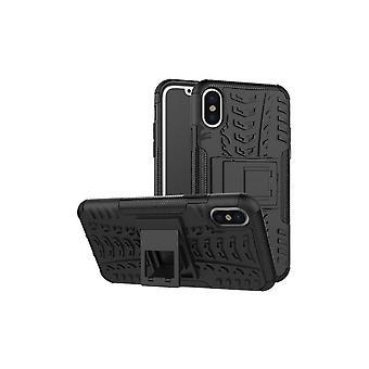 Hull For Iphone X Anti-Shock And Black Bi-Matter