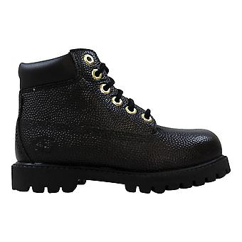 Timberland 6 Inch Premium Waterproof Boot Black Textured TB0A16XQ Toddler