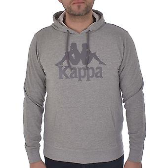 Kappa Mens Authentic Zimm Long Sleeve Casual Pullover Hoody Hoodie - Flint gris