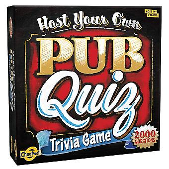 Cheatwell Games Host Your Own Pub Quiz Trivia Game
