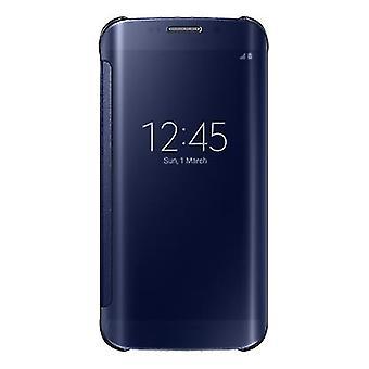Samsung EF-ZG925BBEGWW Clear View Cover Cover Case Black, Galaxy S6 Edge