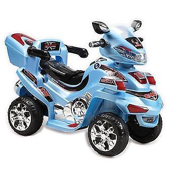 Børns elektriske motorcykel 6V B021 op til 3 km/h med musik, lys og bagage rack