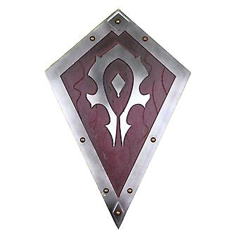 World of Warcraft engraved wooden shield