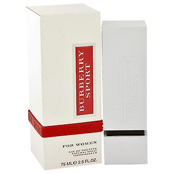Burberry Sport Eau De Toilette Spray By Burberry   463242 75 ml