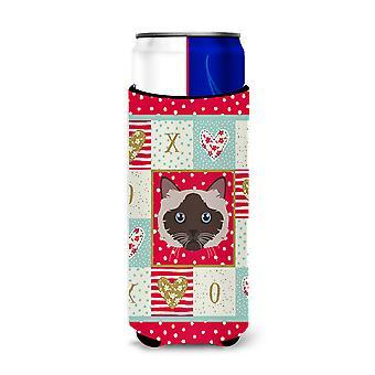 Carolines Treasures  CK5090MUK Birman Cat Michelob Ultra Hugger for slim cans