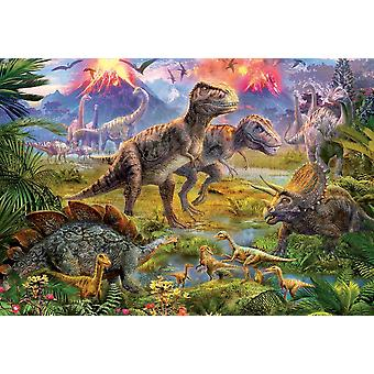 Educa Dinosaur Gathering Jigsaw Puzzle (500 Pieces)