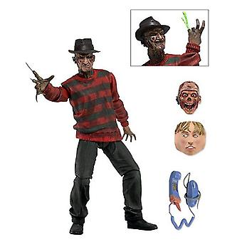 Nightmare on Elm Street 7-toiminta hahmo Ultimate Freddy materiaali: muovi, tuottaja: NECA