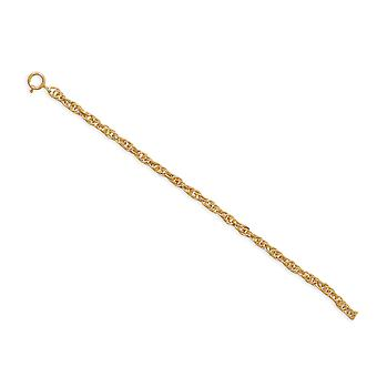 9 Pollici - 1 Inch Extention 14/20 Oro riempito 2.25mm Corda Catena Chiusura Anello Chiusura Gioielli Regali per le Donne