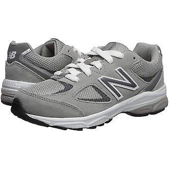 New Balance Boys ' 888v2 juoksu kenkä, harmaa/harmaa, 2 W US Infant