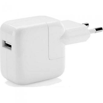 Apple MD836ZM/A Alimentation 12W, Chargeur de voyage A1401, iPhone 12 11 XS XR X 8 7 SE / iPad iPod