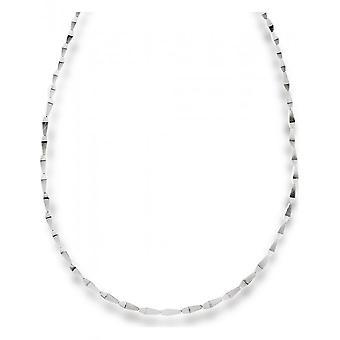 bastian inverun - 925/- Zilveren ketting, onder gematteerd - 12472