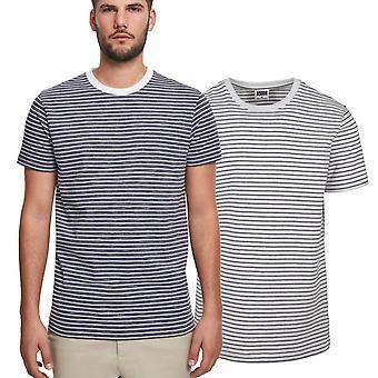 Urban Classics - Basic Stripe Marine Shirt