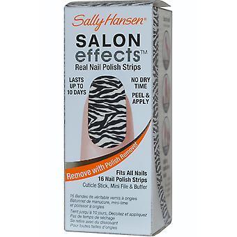 Sally Hansen Salon Effects Real uñas tiras niño salvaje (#310)