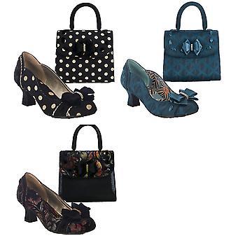 Ruby Shoo Women's Rhea Court Shoes & Matching Santiago Bag