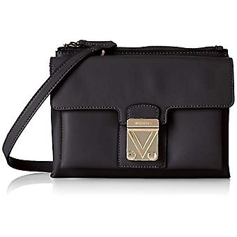 Mario Valentino VBS2ZL02 Black Women's backpack bag (Black 001)) 8x16.5x24.5 cm (B x H x T)