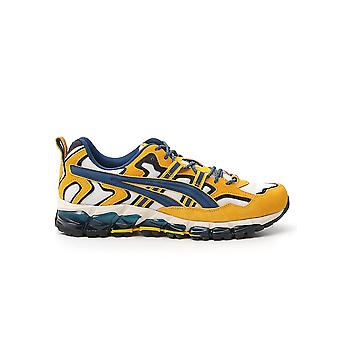 Asics 1021a284100 Men's Yellow Fabric Sneakers