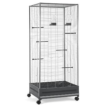 Voltrega Aviary Gray 420 65.5 X 54 X 150 Cm (Birds , Cages and aviaries , Aviary)