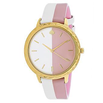 Kate Spade Women's Metro Pink/White Watch - KSW1531