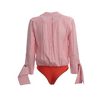 Elisabetta Franchi Cb10001e2l79 Mulheres's Vermelho Viscose Bodysuit