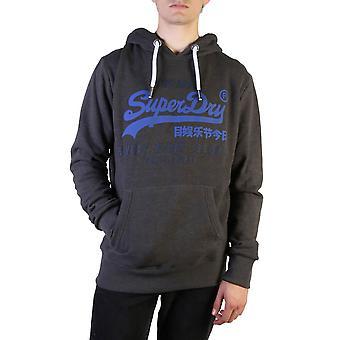Superdry Original Herren Herbst/Winter Sweatshirt - grau Farbe 37786