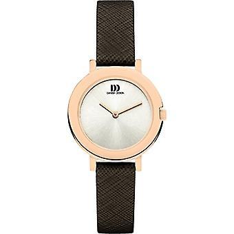 Eminem's DZ120398-wrist watch for women, brown leather strap