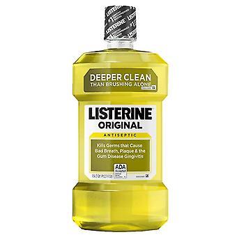 Listerine opprinnelige antiseptisk munnvann, original, 1,5 l