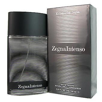 Zegna intenso para homens por ermenegildo zegna 3,4 oz eau de spray de Colónia