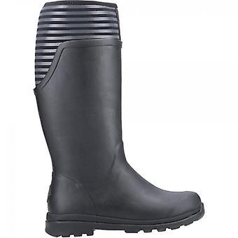 Muck Boots Cambridge Tall Ladies Rubber Wellington Boots Black