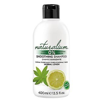 Moisturizing Shampoo Herbal Lemon Naturalium (400 ml)