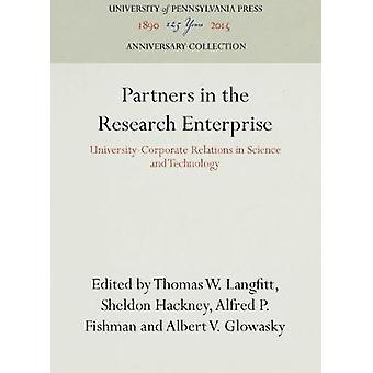 Partners in the Research Enterprise by Langfitt & Thomas W.