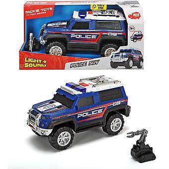 Dickie Toys SUV Police Car Light and Sound