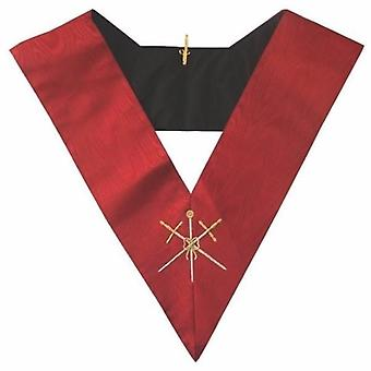 Masonic aasr collar 18th degree - knight rose croix - master of ceremonies