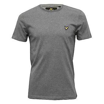 Lyle & Scott Classic Crew-Neck T-Shirt, Grey Marl