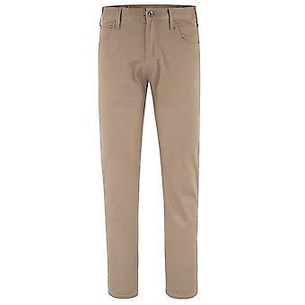 Armani Jeans Beige Slim Fit Pantalones