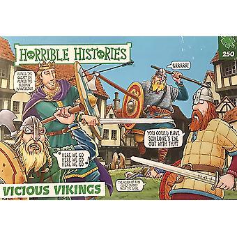 Paul Lamond Horrible Histories Vicious Vikings 250 Piece Jigsaw Puzzle