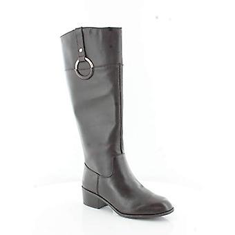 Alfani Briaah Frauen's Stiefel dunkelbraun Größe 6 M